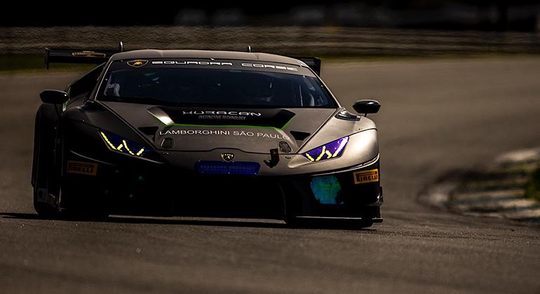 Em Interlagos o Lamborghini Huracán será pilotado por Francisco Longo e Marcos Gomes (Bruno Terena)