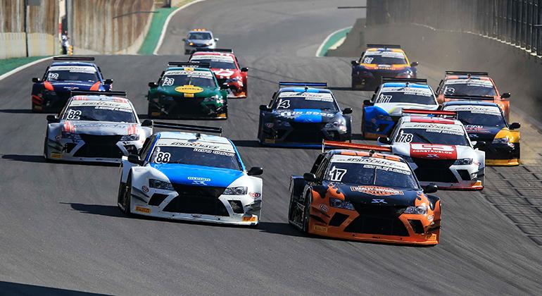 A Sprint Race também estará presente no Festival Paulista de Automobilismo.