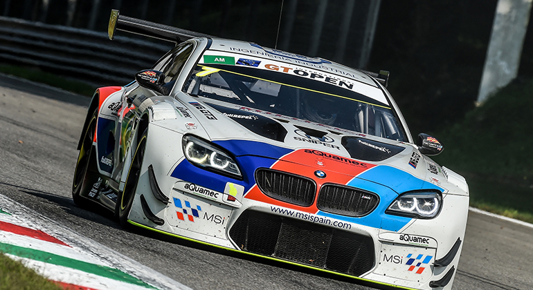 Salas e Basso disputam a etapa fional do GT Open 2019 com este BMW (GT Open)