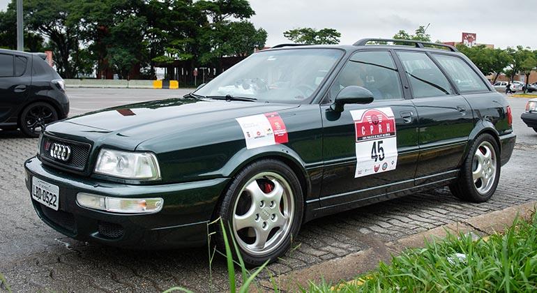 O Audi RS2 (Divulgação/Victor Chahin)