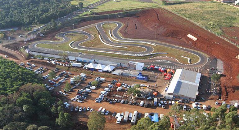 Kartódromo Delci Damian está sendo modernizado para receber o Campeonato Brasileiro (Divulgação)