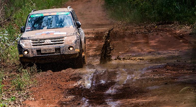 Prova na Fazenda São Xavier terá 120 km de extensão e diversos tipos de piso (Mitsubishi Cup
