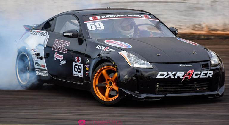 Carros com tração traseira e de alto desempenho são a alma do drift (Superdrift Brasil)