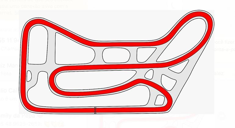 Traçado escolhido é variante das mais velozes do Kartódromo da Aldeia da Serra.