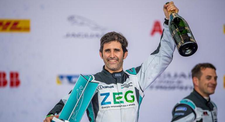 Sérgio Jimenez ocupa a vice-liderança do Troféu Jaguar I-Pace (Divulgação Sérgio jimenez)