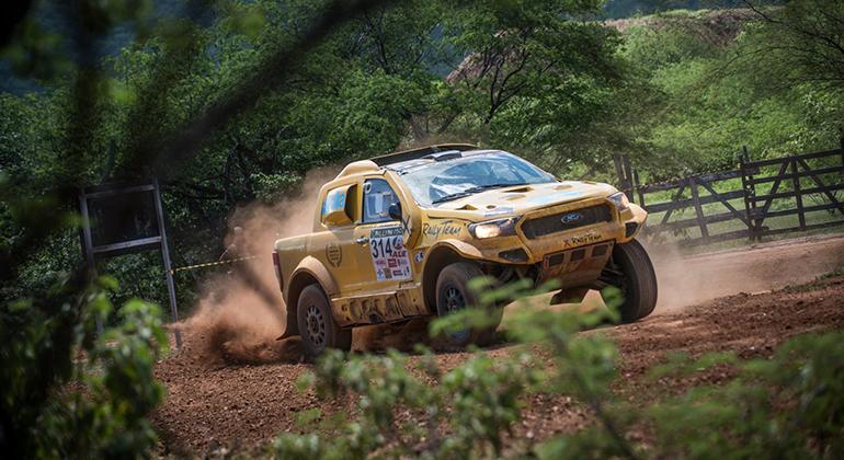 Christian Baumgaraten, tri-campeão do Rally dos Sertões, vai competir em Botucatu (Doni Castilhos)