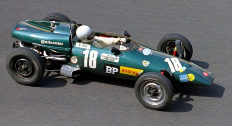 O Kaimann Vee pilotado por NIki Lauda noinício de sua carreira (F/Promo - Reprodução)