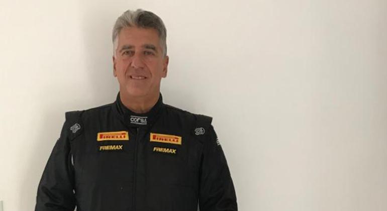 Grego Lemonias: piloto e criador da Old Stock Race em parceria com Paulo Soláriz (Arquivo Pessoal Grego Lemonias)